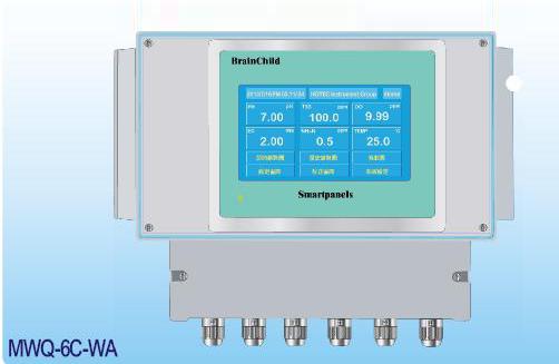 多功能多参数水质贝博游戏 MWQ-6C-WA